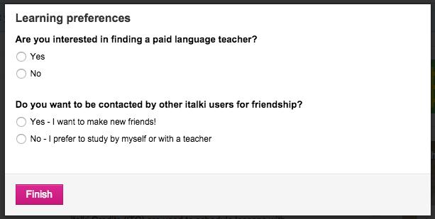 paid language teacher