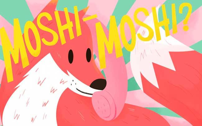 moshi moshi japan