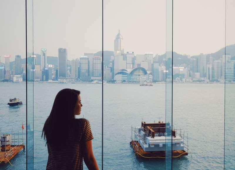 view from the InterContinental Hong Kong