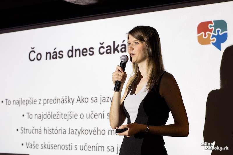Lydia Machova language mentoring