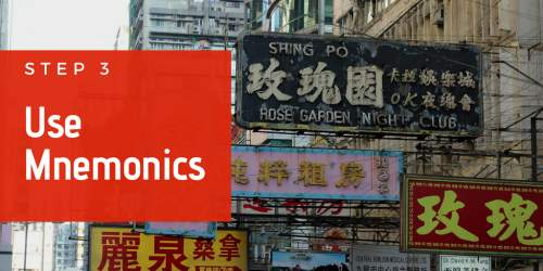 cantonese mnemonics