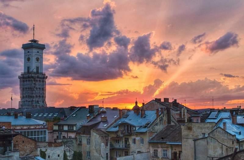 ukrainian town