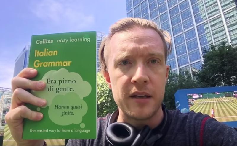 Olly Italian grammar book