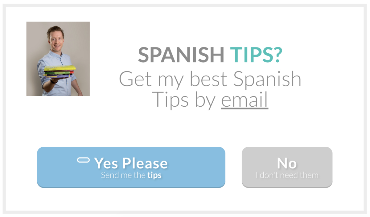 spanish tips