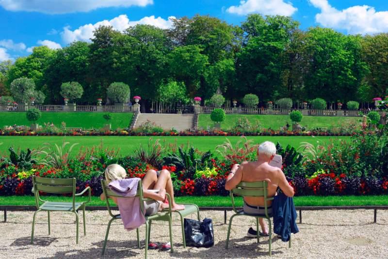 jardins palais Luxembourg Paris