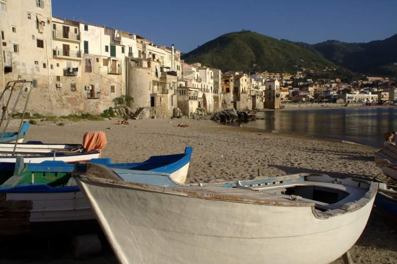 coastline in Sicily