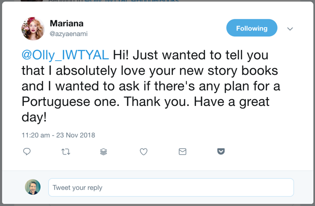 story books twitter