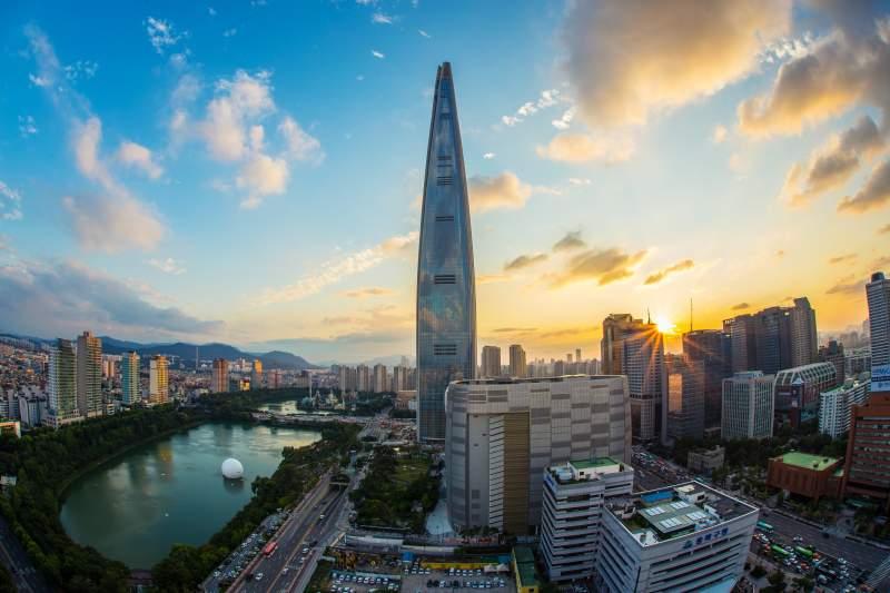 Learn Korean Seoul at sunset