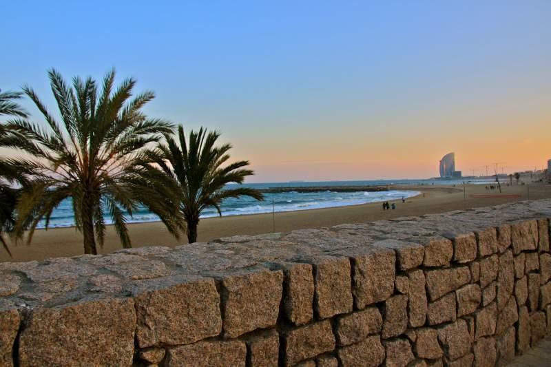 Spanish slang words beach Barcelona