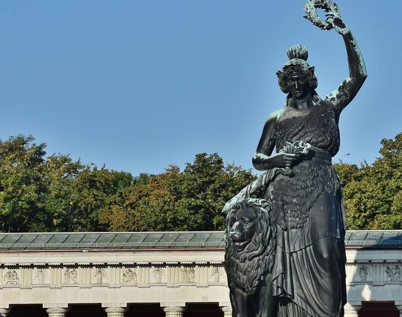 Bavaria statue in Theresienwiese