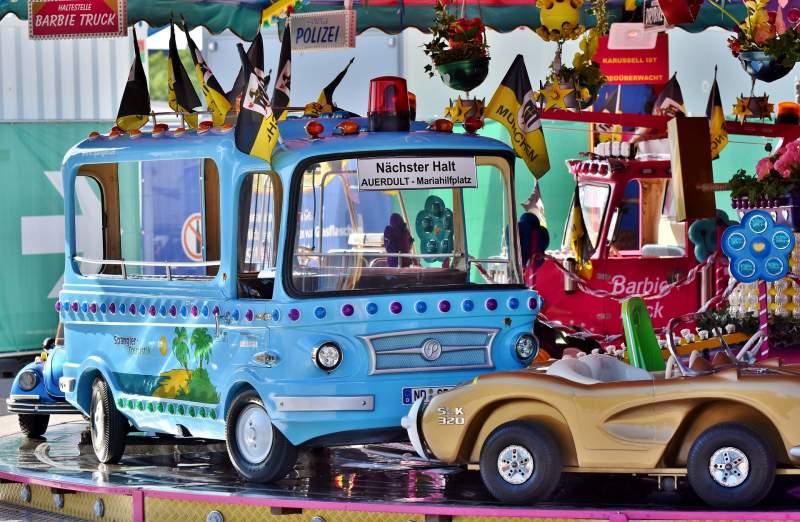 carousel at Oktoberfest